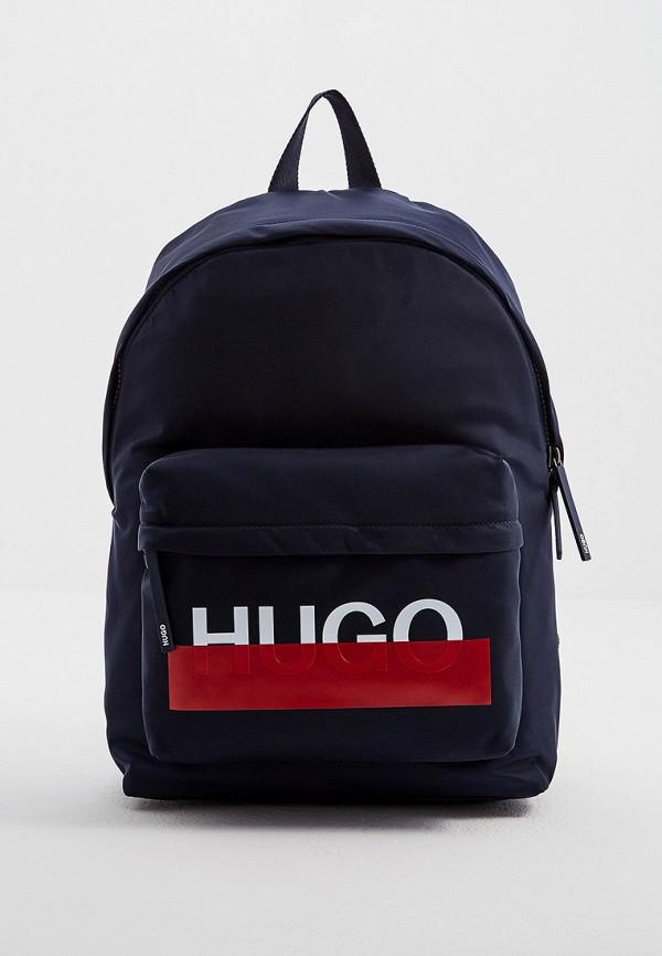 мужской рюкзак hugo boss, синий