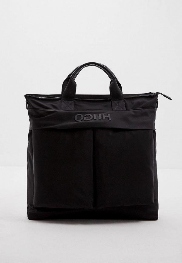 мужская сумка hugo, черная