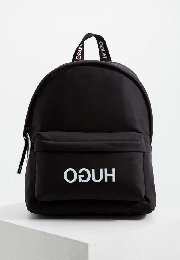 женский рюкзак hugo boss, черный