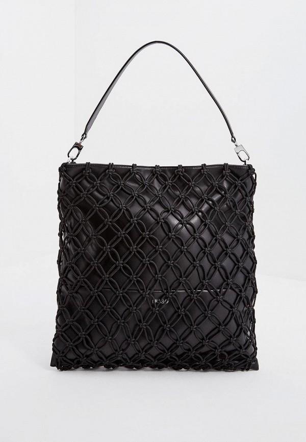 женская сумка hugo boss, черная