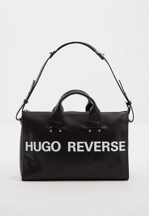 женская сумка hugo, черная