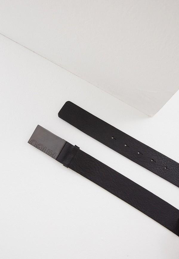 Фото 2 - Ремень Hugo Hugo Boss черного цвета