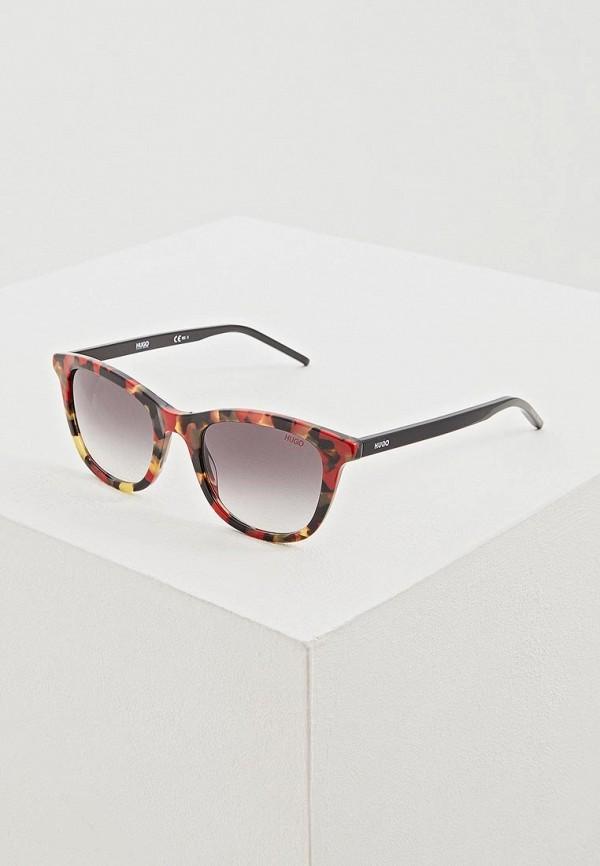 женские солнцезащитные очки hugo boss, разноцветные