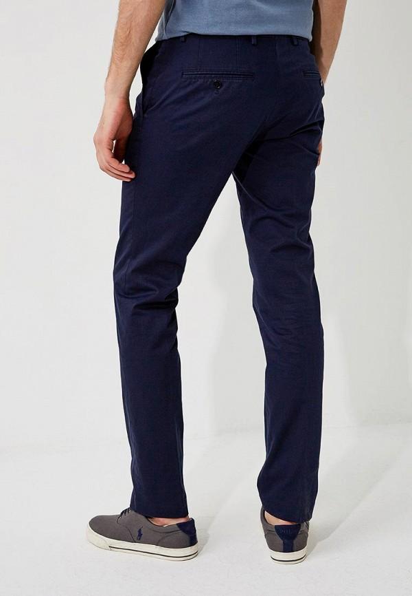 Фото 3 - мужские брюки Hugo синего цвета