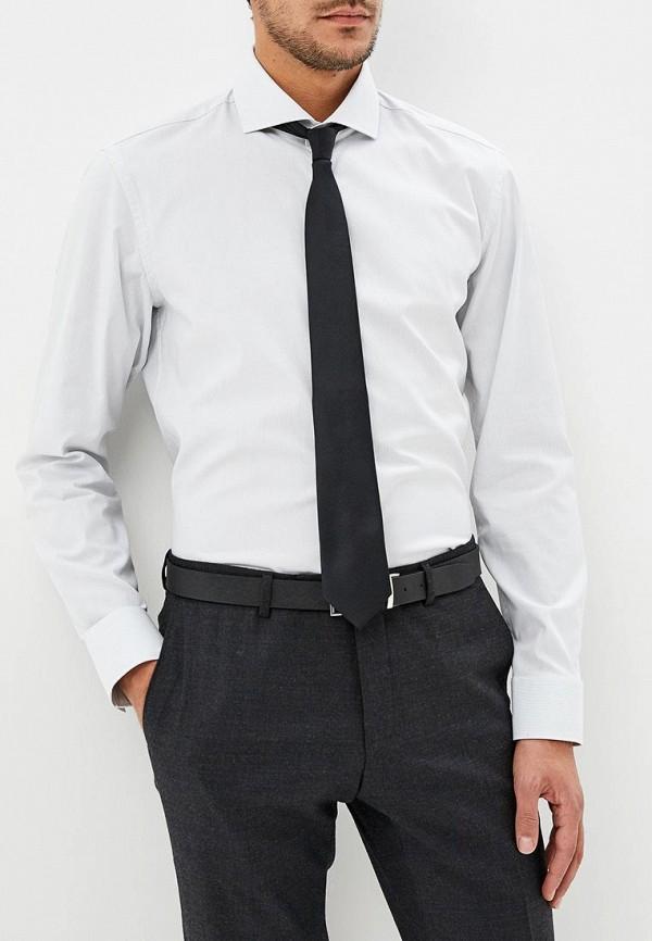 мужская рубашка с длинным рукавом hugo boss, белая