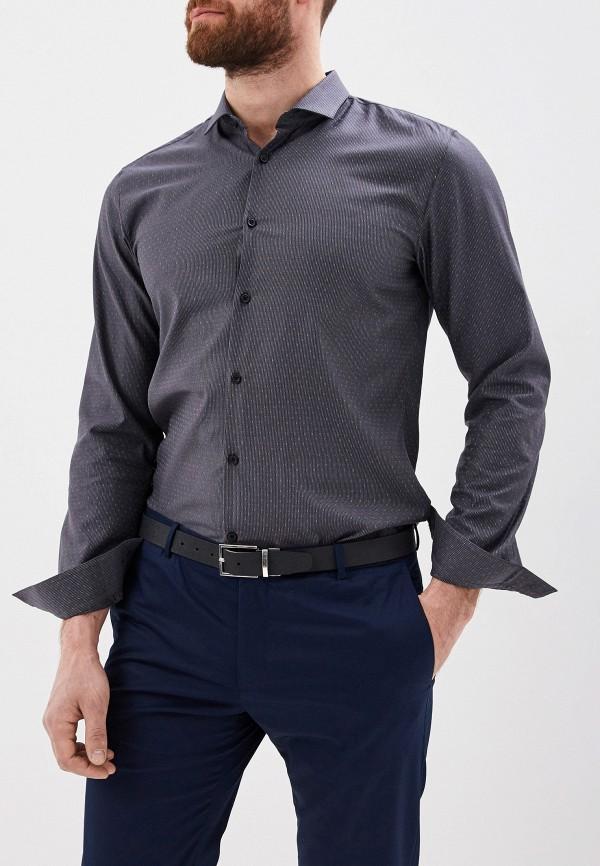 Фото - мужскую рубашку Hugo серого цвета