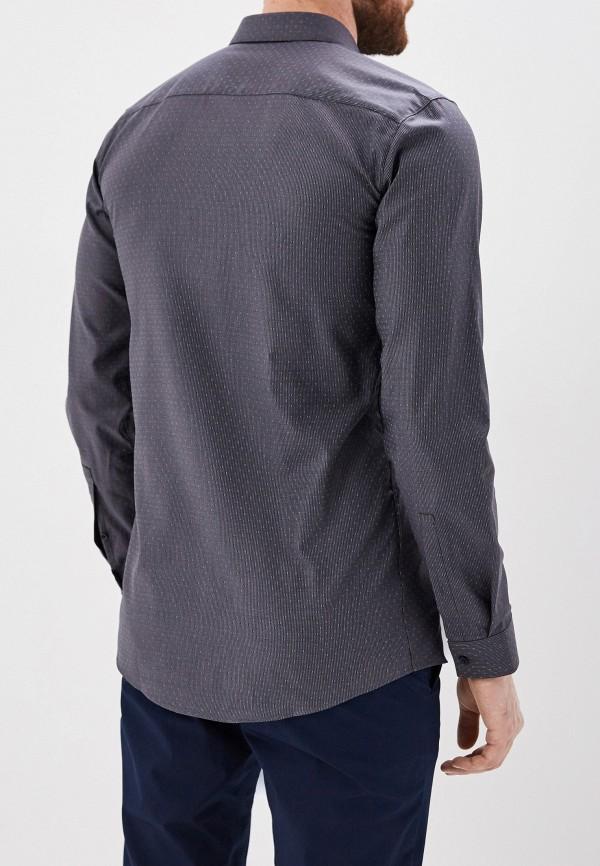 Фото 3 - мужскую рубашку Hugo серого цвета