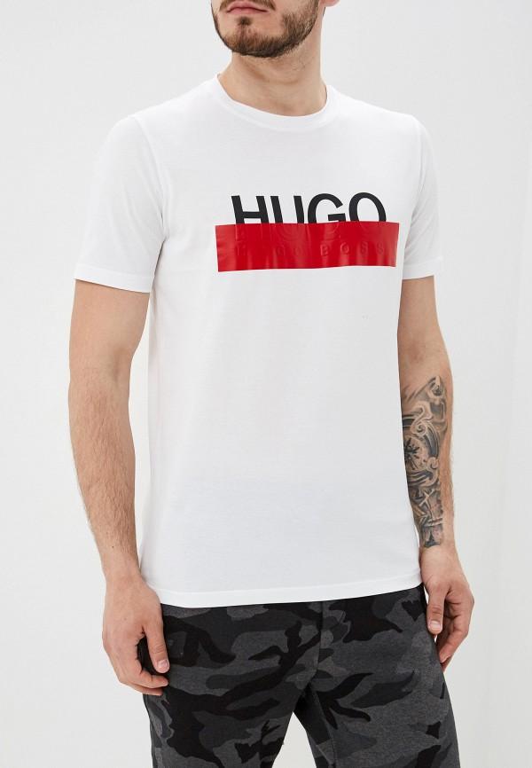 Купить Футболка Hugo Hugo Boss, hu286emfdmr1, белый, Осень-зима 2019/2020