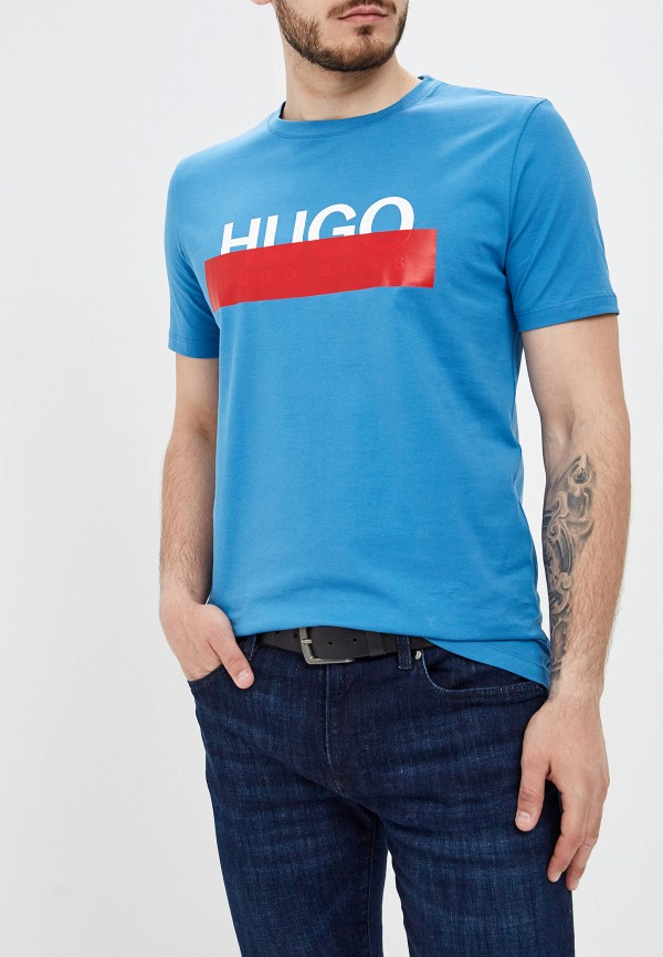 Футболка Hugo Hugo Boss Hugo Hugo Boss HU286EMFDMR2 цена и фото