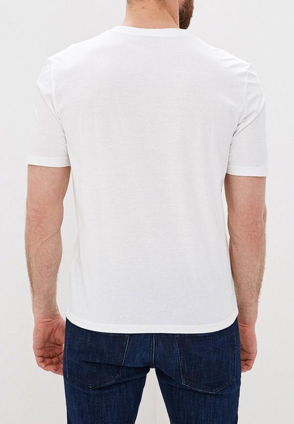 Фото 3 - мужскую футболку Hugo белого цвета