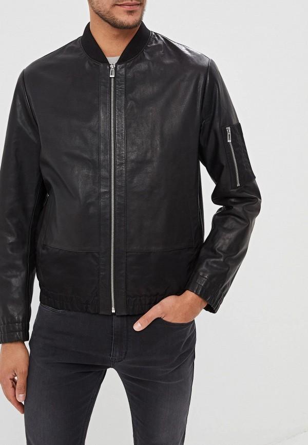 Куртка кожаная Hugo Hugo Boss Hugo Hugo Boss HU286EMFDNO1 стоимость