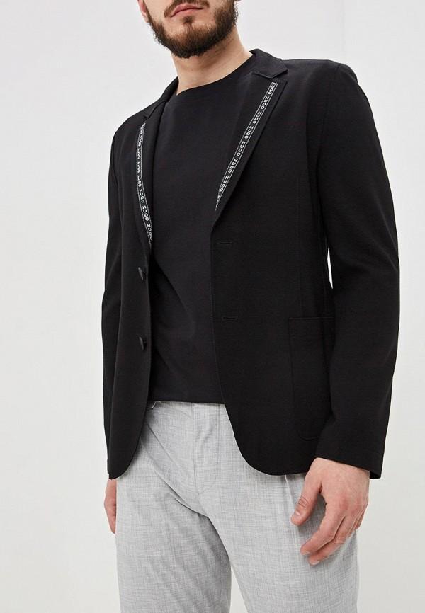 мужской пиджак hugo boss, черный
