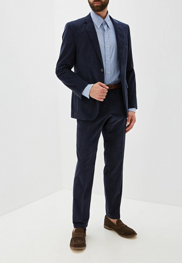 мужской классические костюм hugo, синий