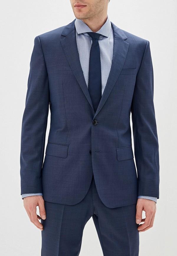 мужской классические костюм hugo boss, синий