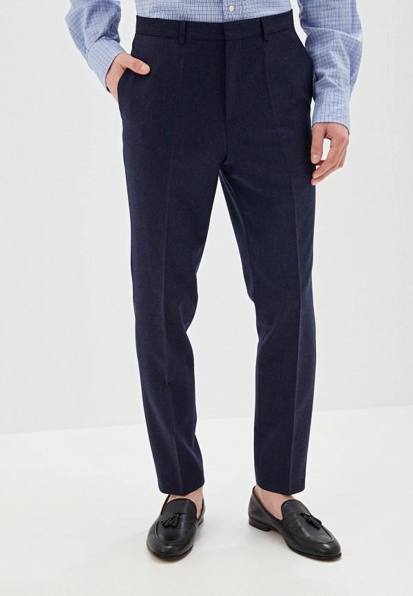 мужские классические брюки hugo boss, синие