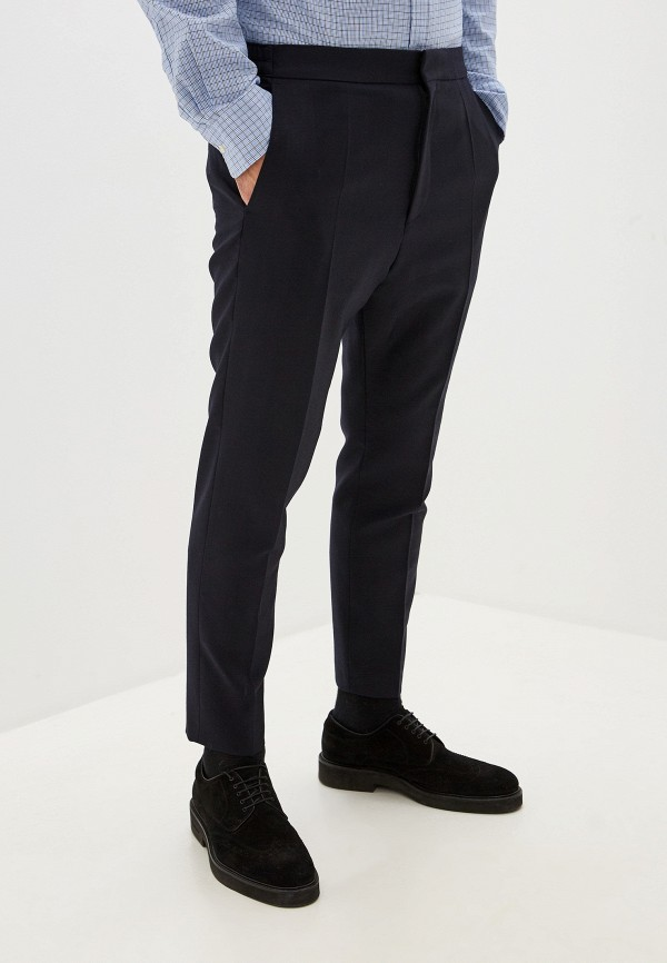 мужские классические брюки hugo, синие