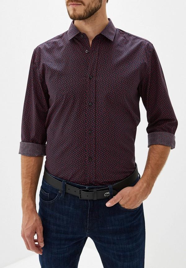 Фото 6 - мужскую рубашку Hugo синего цвета