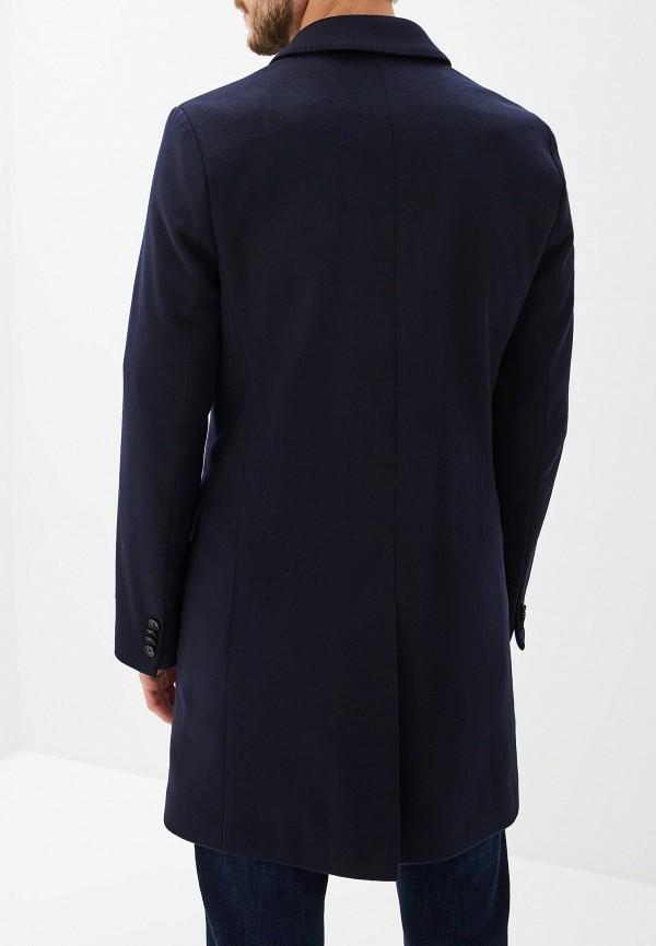 Фото 3 - мужскую рубашку Hugo синего цвета