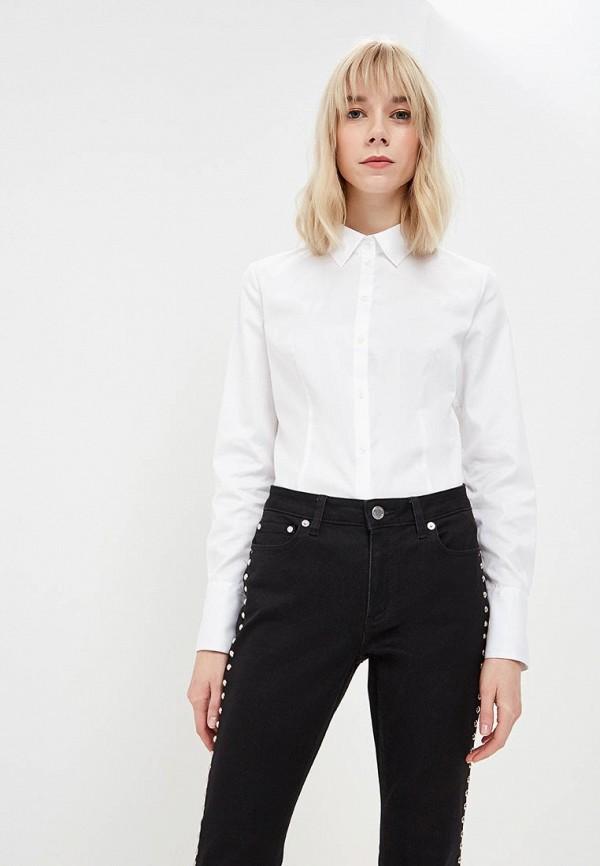 женская рубашка с длинным рукавом hugo boss, белая