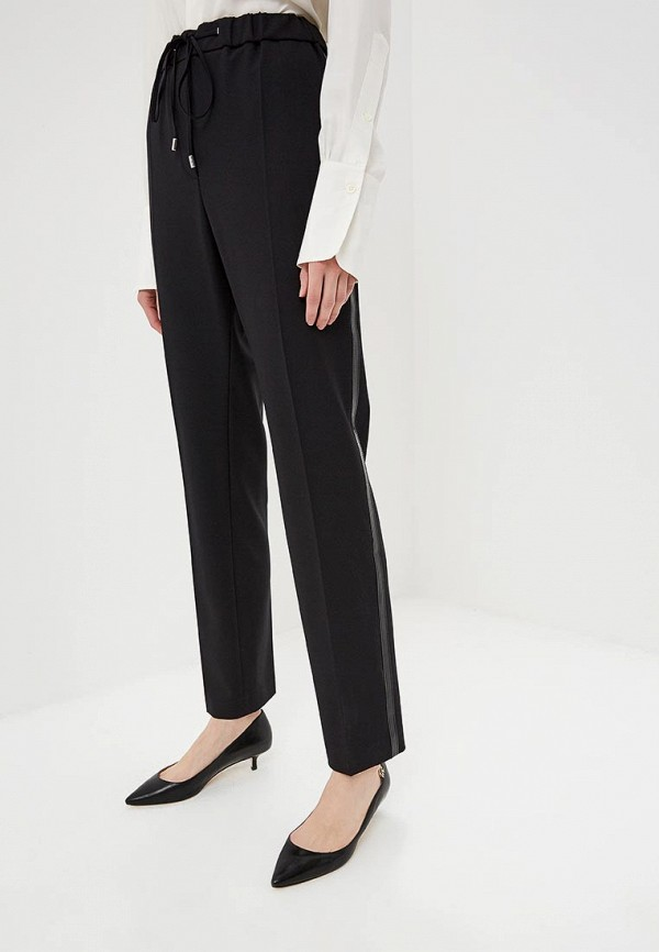 женские повседневные брюки hugo, черные