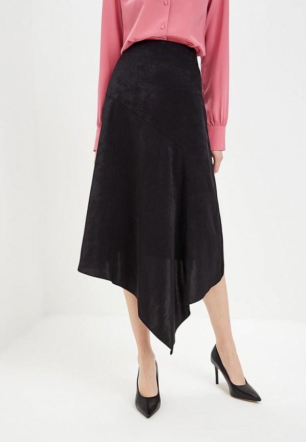 женская юбка hugo boss, черная