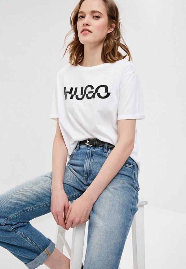 Футболка Hugo Hugo Boss Hugo Hugo Boss HU286EWECXS6 цена