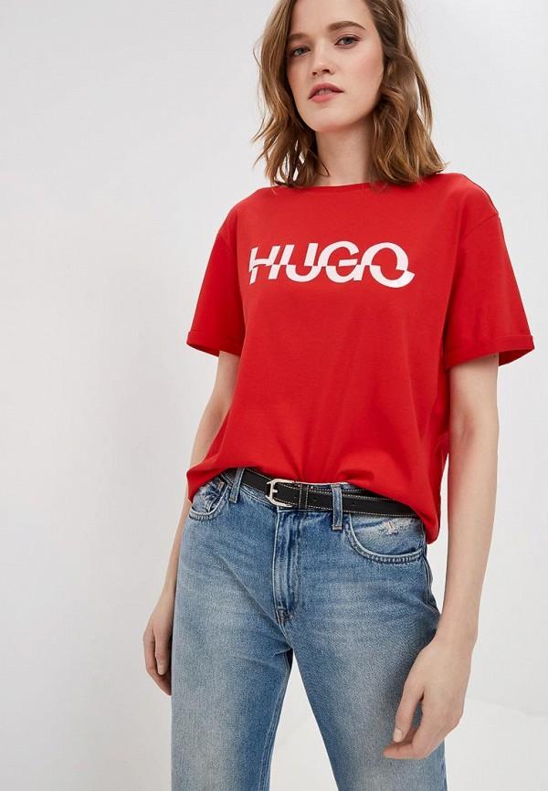 Футболка Hugo Hugo Boss Hugo Hugo Boss HU286EWECXS8 футболка hugo hugo boss hugo hugo boss hu286emecyj1