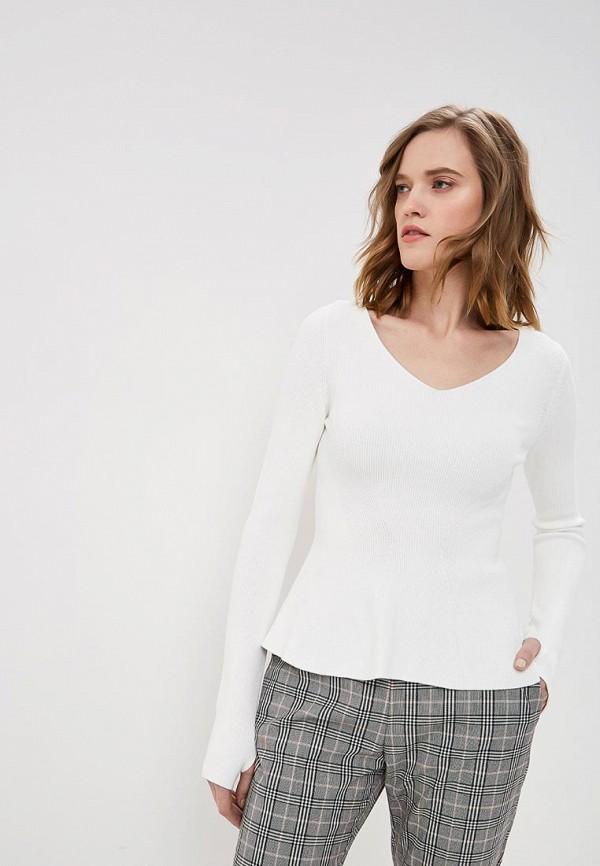 женский пуловер hugo, белый