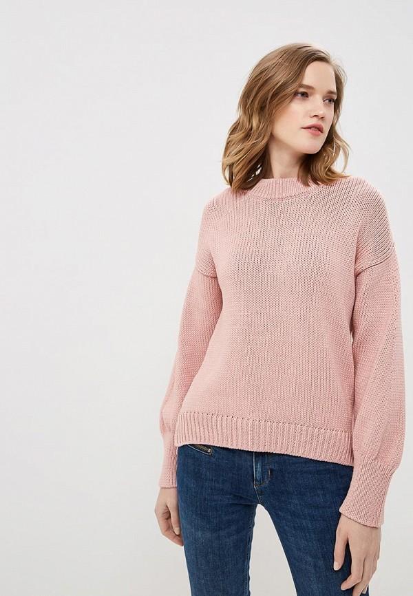 женский джемпер hugo, розовый