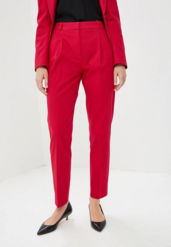 женские повседневные брюки hugo boss, розовые