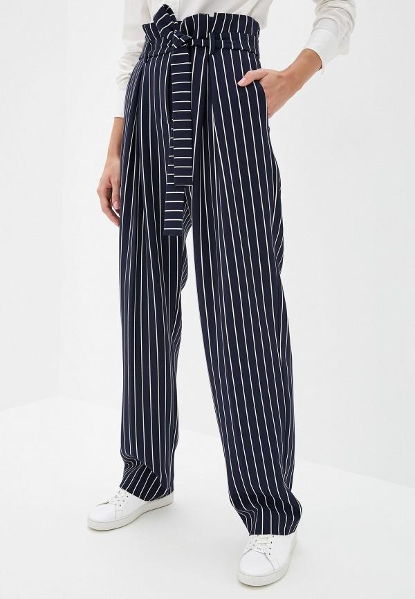 женские повседневные брюки hugo boss, синие