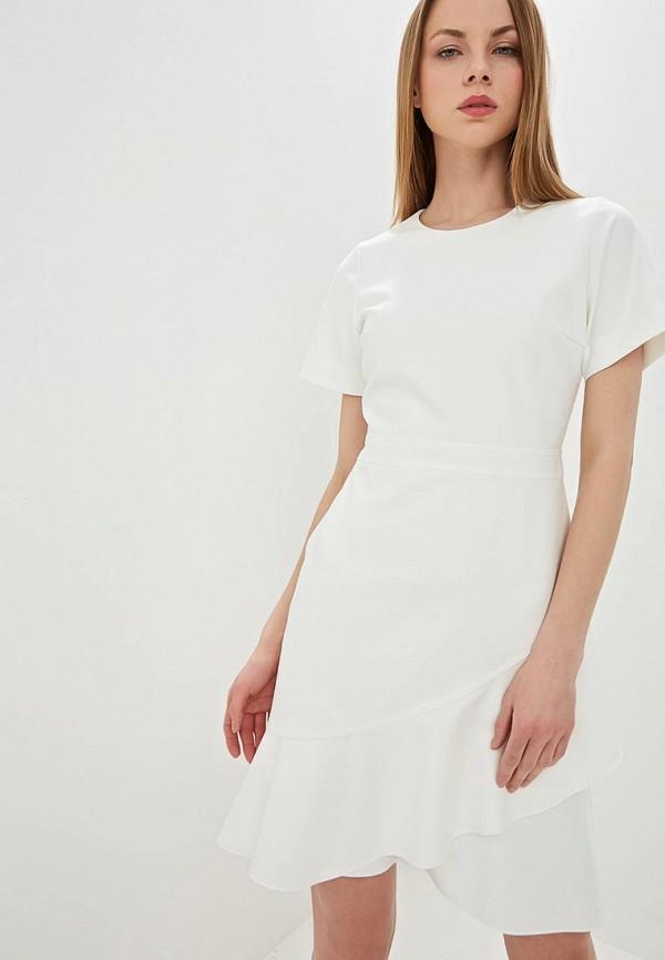 женское повседневные платье hugo boss, белое