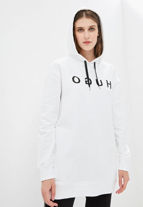Купить Худи Hugo Hugo Boss, Namora, hu286ewfdps4, белый, Осень-зима 2019/2020