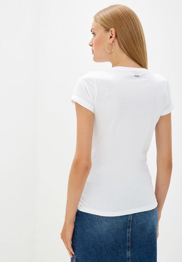 Фото 3 - женскую футболку Hugo Hugo Boss белого цвета