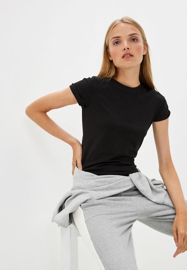 Фото - женскую футболку Hugo Hugo Boss черного цвета