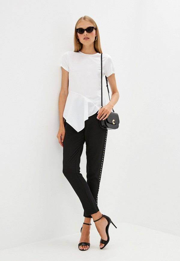 Фото 2 - женскую футболку Hugo белого цвета