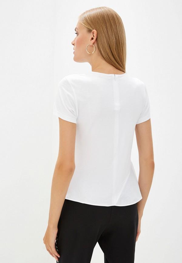 Фото 3 - женскую футболку Hugo белого цвета