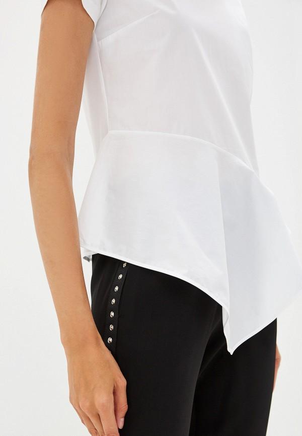 Фото 4 - женскую футболку Hugo белого цвета