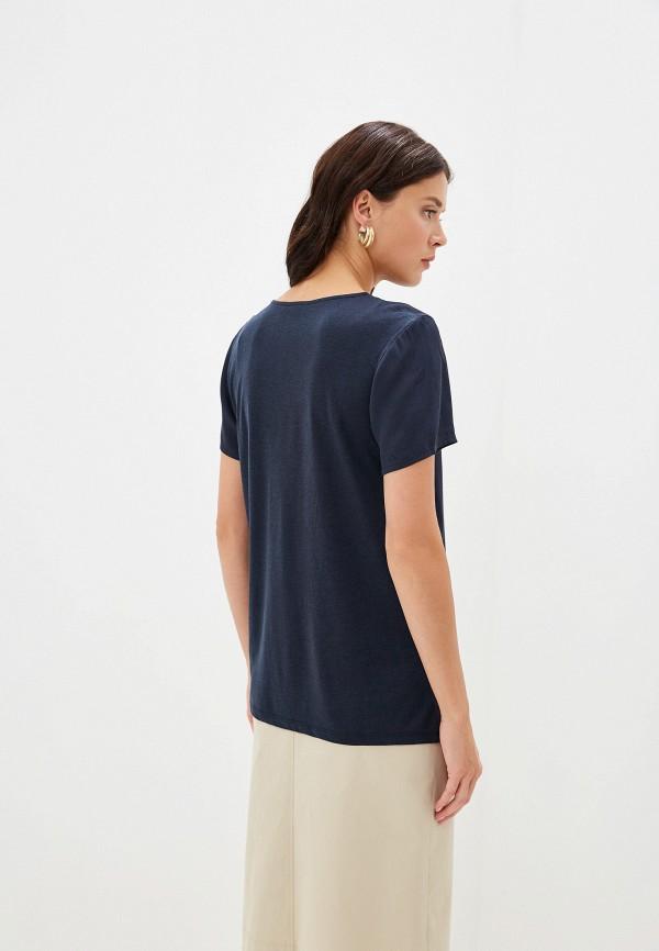 Фото 3 - Блузу Hugo синего цвета