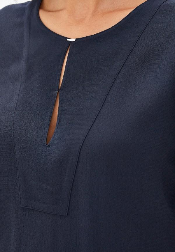 Фото 4 - Блузу Hugo синего цвета