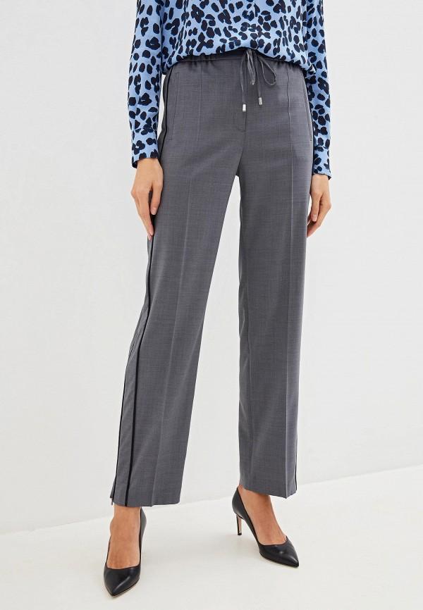 женские классические брюки hugo, серые