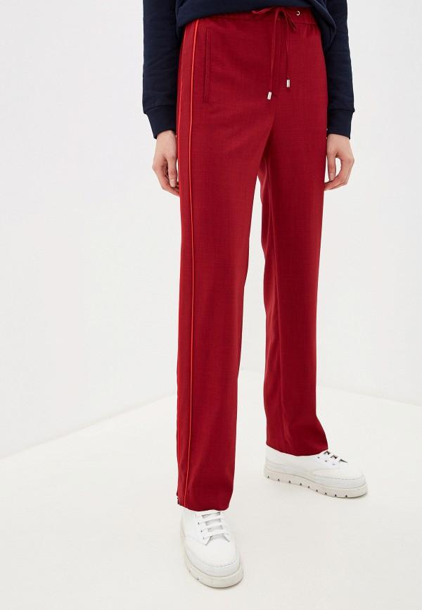 женские брюки hugo, бордовые