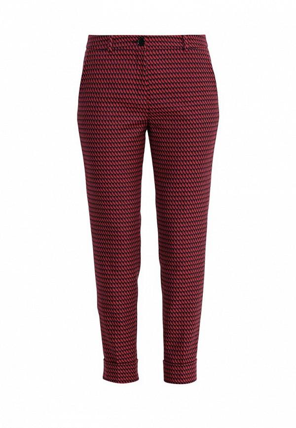 женские классические брюки hugo, красные