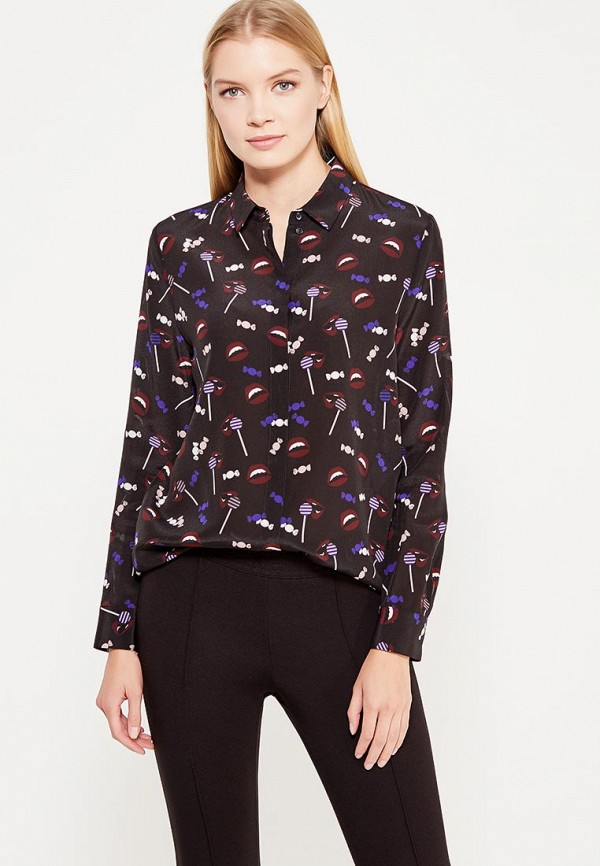 женская блузка hugo boss, черная