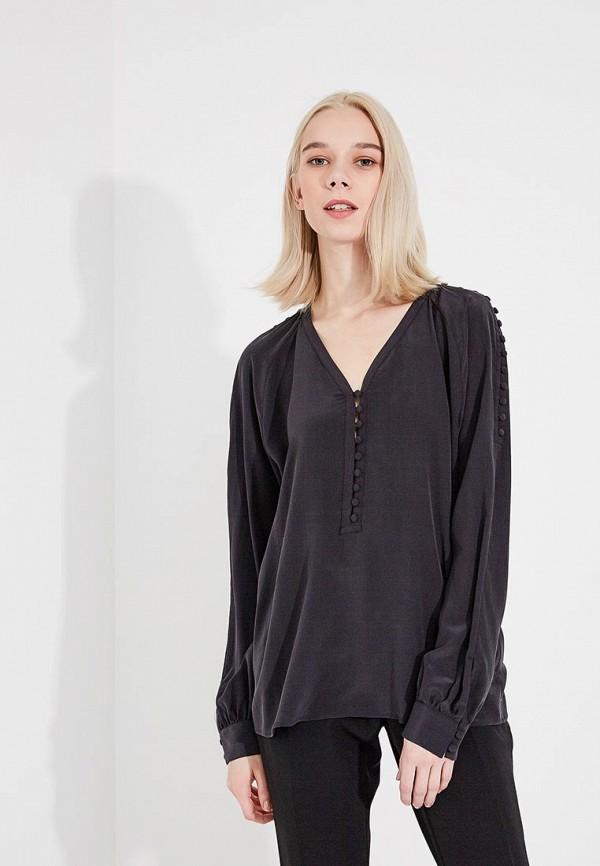женская блузка hugo, черная