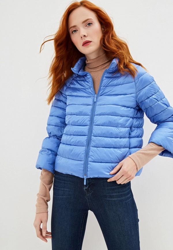 женская куртка iblues, голубая