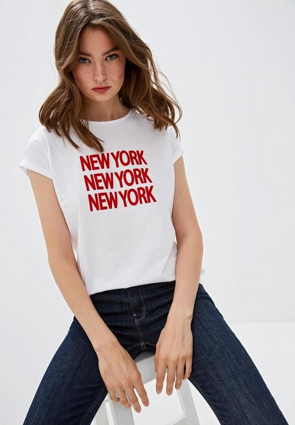 женская футболка iblues, белая