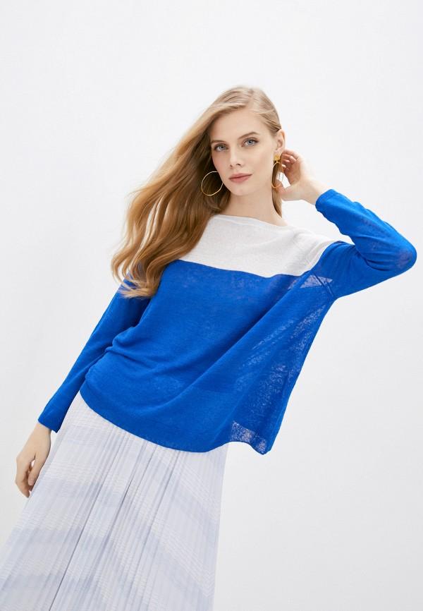 женский джемпер iblues, синий