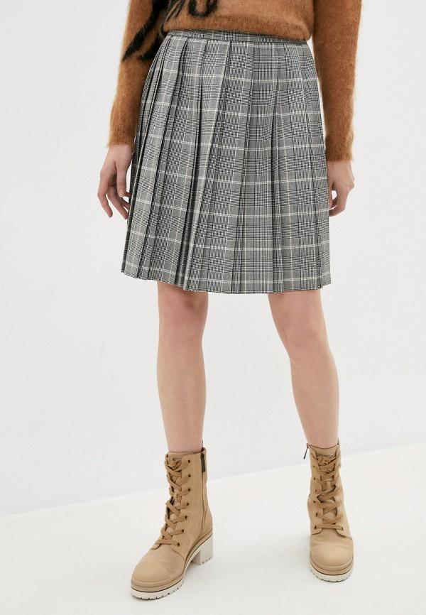 женская плиссированные юбка iblues, серая