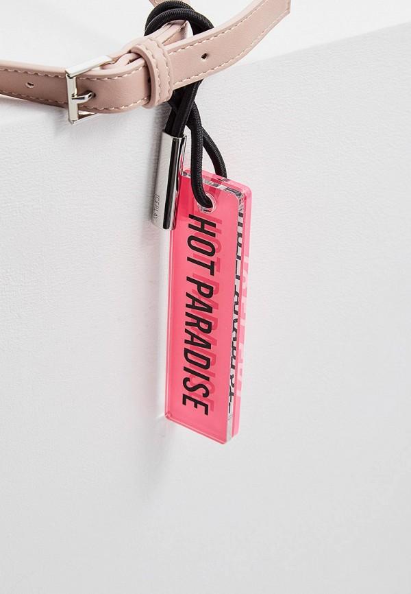 Фото 4 - женскую сумку Ice Play розового цвета